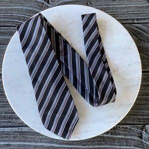 Men's Pattern Stripe Modern Fit Necktie
